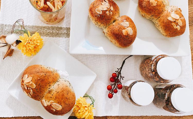 冬の薬膳パン〜チャイクリームパン&温活シロップ〜薬膳座学・薬膳茶付き