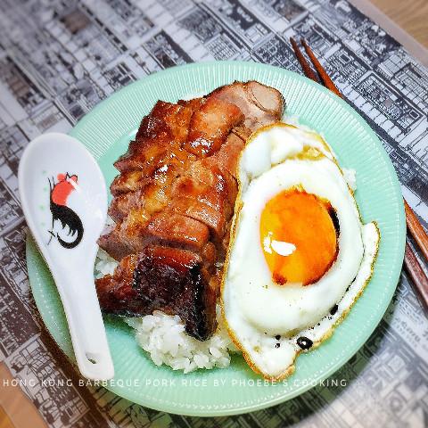 香港チャーシュー飯