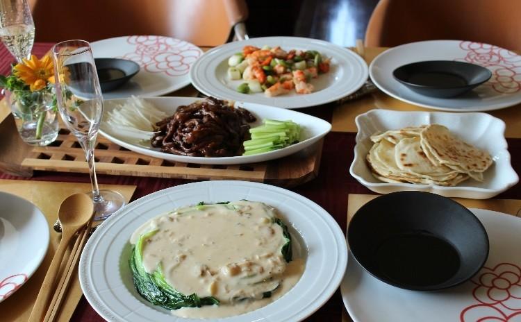 食&花 初、中華もレストランに負けないお味