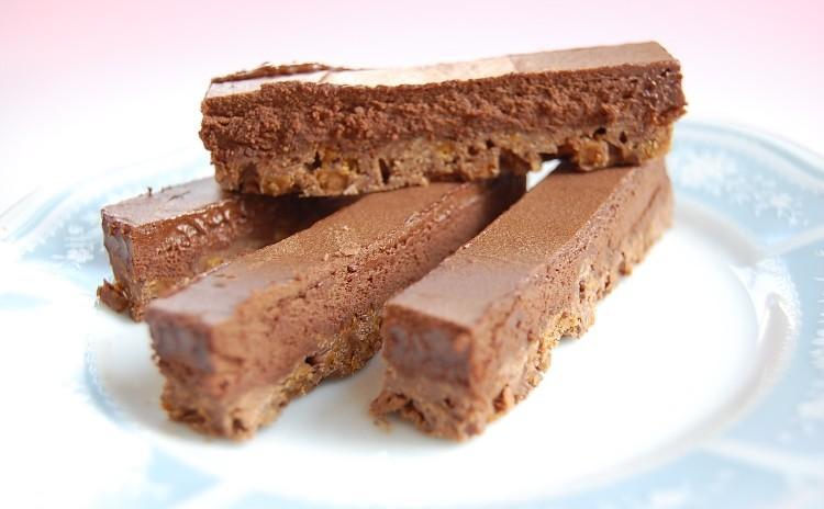 【プロが教える】チョコ菓子『生チョコクランチバー』一人20個~30個