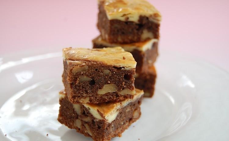 【プロが教える】チョコ焼き菓子『チーズマーブルブラウニー』一人20個~40個