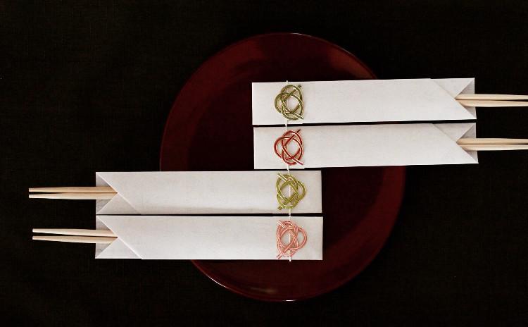 日本の色を愉しむ、和のラッピングレッスン♪