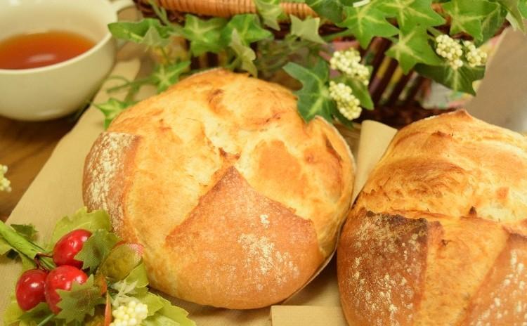 カンパーニュ風♪田舎パン&チェダーチーズブレッドで料理に合うパンレッスン(^^)/