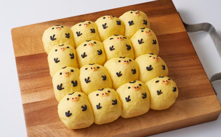 ★ちぎりパン!ひよこちゃん手作りコース★ランチ付き