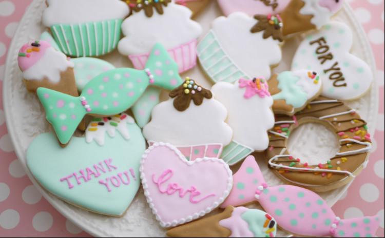 バレンタインにも♡スイーツアイシングクッキーレッスン