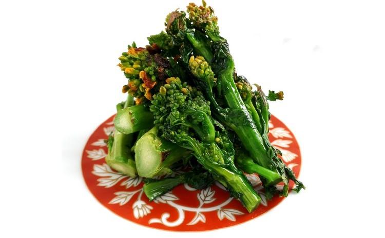菜の花の焼き物(単品定価:3,500円)