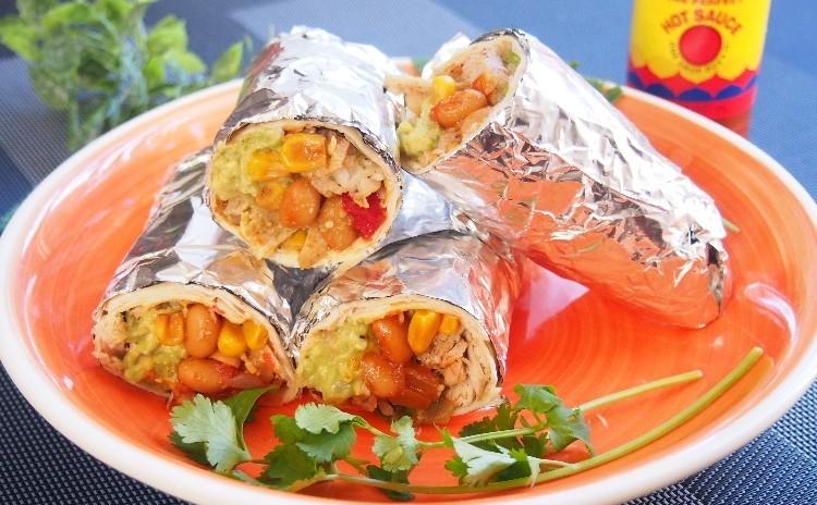 春食材満載!具材たっぷりブリトー、サバのチリコンカン、春キャベツと新玉ねぎのスープ、アメリカンブラウニー
