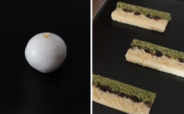 3月の和菓子レッスン♪「貴腐ワインの石衣」「菜の花(押し物)」