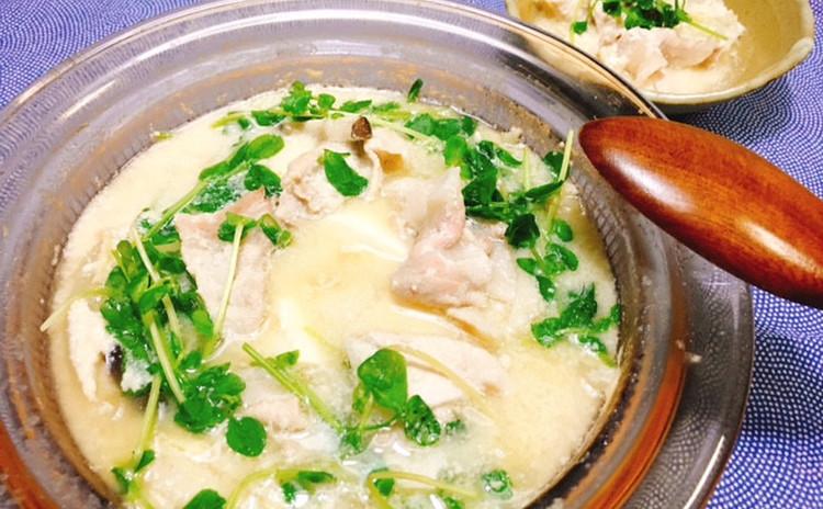 豚豆乳酒粕鍋