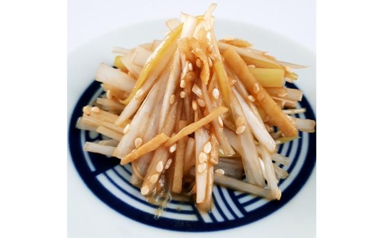 ネギと生姜のオイスターソース和え/中華粥とのセット必須(3,000円)