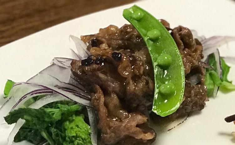 中華ランチ/地鶏包・春雨炒め・牛肉の豆豉炒め・人参スープ・杏仁チーズケーキ