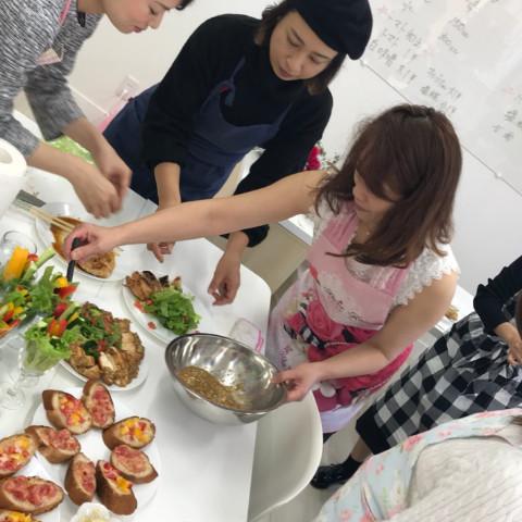 マクロビ お豆腐を使うお料理教室