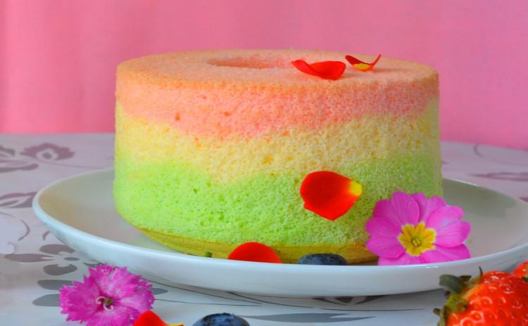 春色レッスン・アメリカンベーキングシリーズ3~春色のシフォンケーキといちごとココナッツのスノーボール