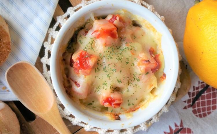 ポテト&コロコロベーコンのチーズ焼き
