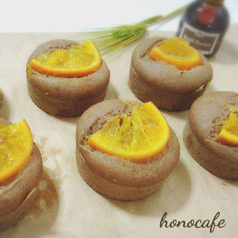 米粉とココアのオレンジケーキ
