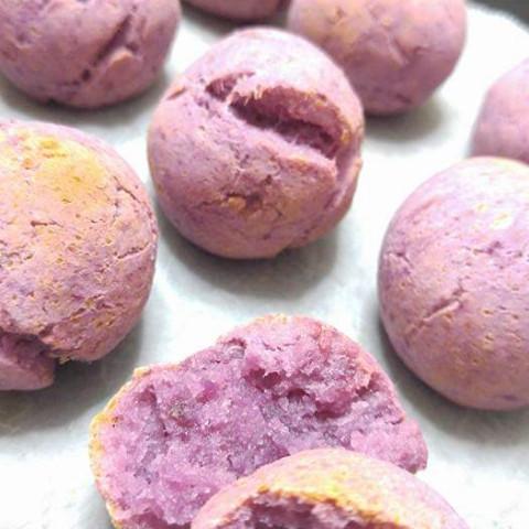 米粉と紫芋のポデケージョ