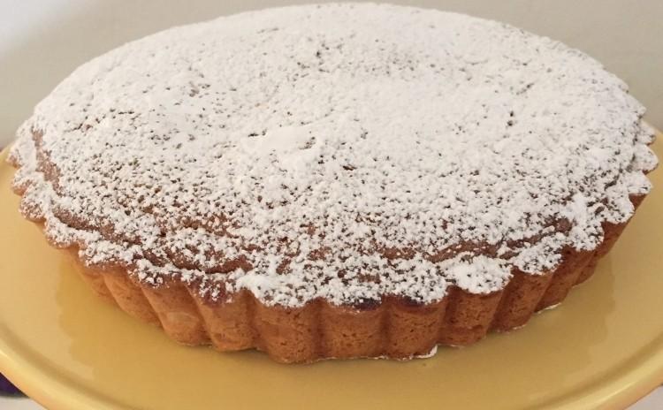 タルト・サンチャゴ✤美味しいスペイン産マルコナス種アーモンドをたっぷり使います