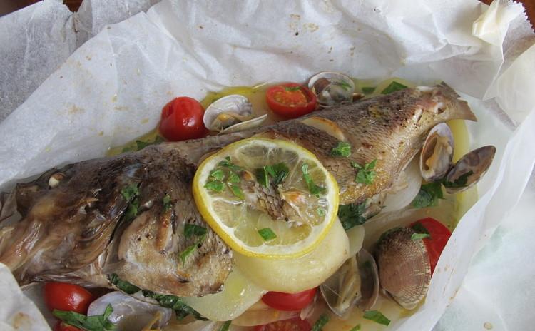 鮮魚のカルトッチョ