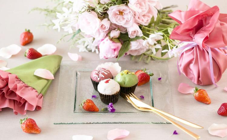 春色のテーブルでおもてなしアフタヌーンティー♪