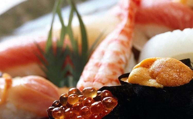 北海道より直送の海鮮寿司