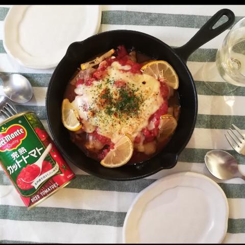 キチンのトマト缶焼き