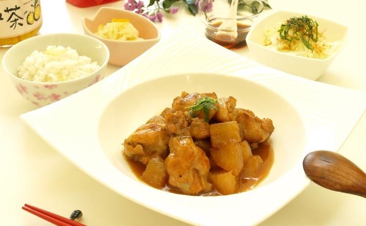 大根を楽しむ!鶏大根、大根サラダ、ゆず大根と生姜ごはん