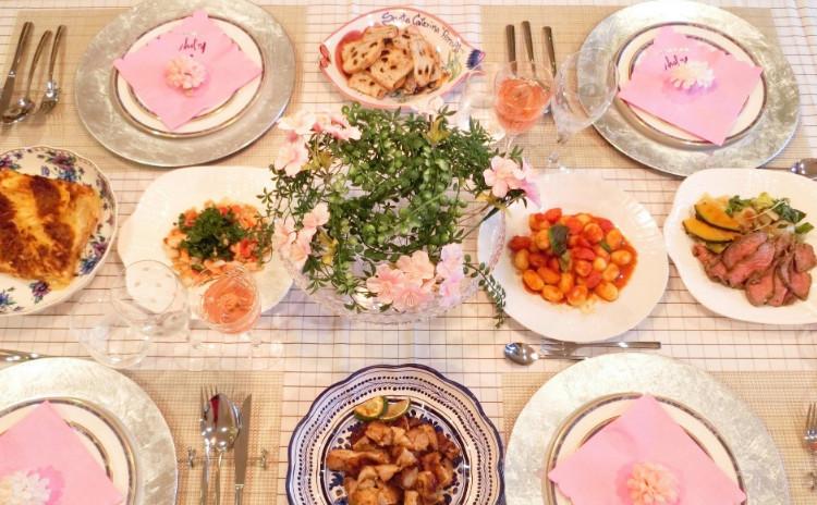 【ニューオープン記念】ロゼワインと春のチーズ料理レッスン