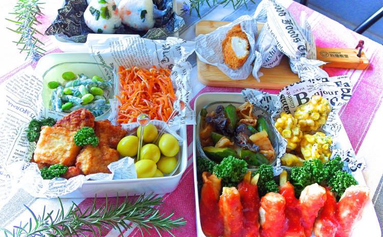 あなたのお弁当ライフ、応援します! 色別惣菜で簡単カラフル♪