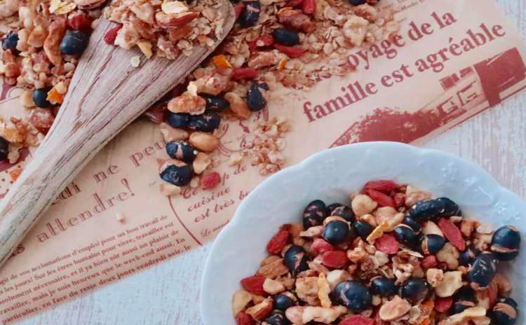 ☆期間限定割引キャンペーン中☆ナッツで作るオレンジタルト&フルーツグラノーラ(お家に帰ってすぐに作れるタルトの材料とグラノーラをお持ち帰り頂きます)