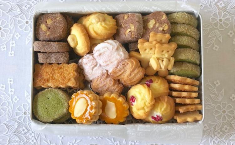 可愛い~6種類のクッキーがぎっしり詰まった缶入りクッキーを作りましょう。