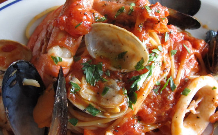 スパゲッティアッラペスカトーラ