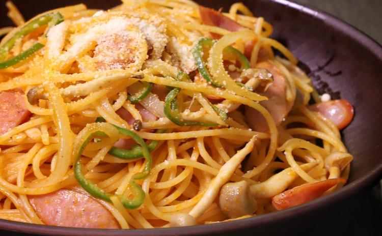 ナポリタン コロッケ 鶏肉のトマト煮 きのこポタージュ