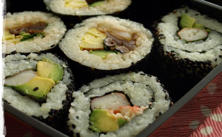 飾り巻き寿司(めおと雛)レッスン