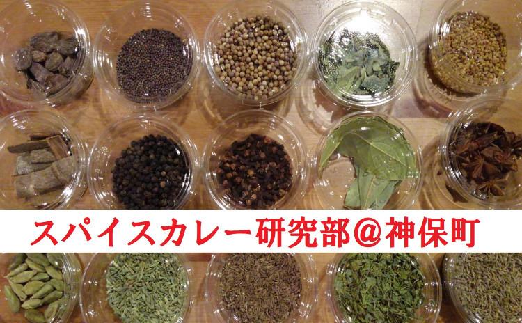 神保町でスパイスからのカレー作りを学ぶ!スパイスカレー研究部#20(タケノコグリーンカレー)