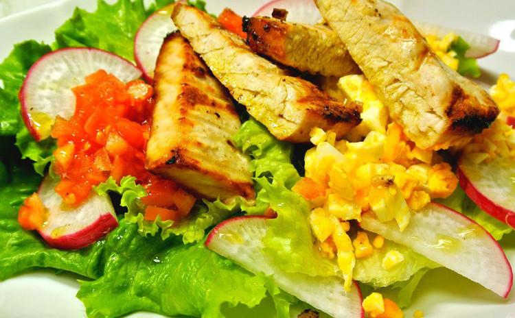 ふっくらチキンのオーブン焼き♡メカジキのサラダ仕立て&ほうれん草とトマトのクリームパスタ