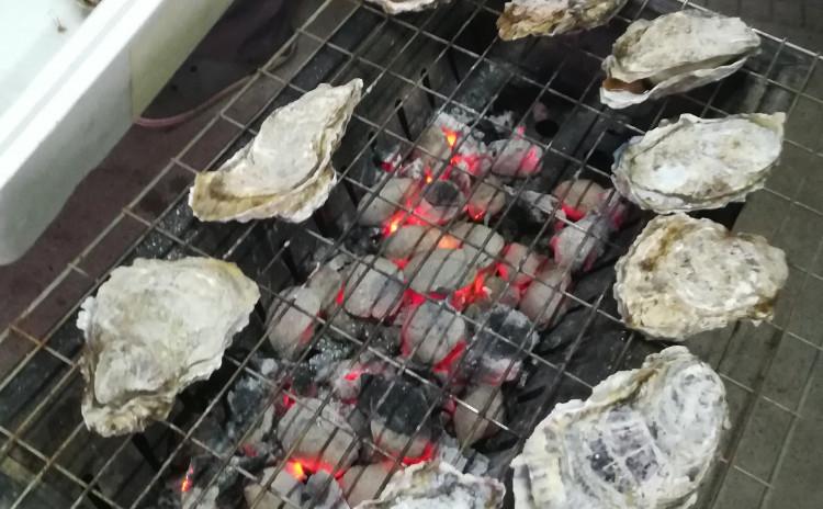 牡蠣BBQ