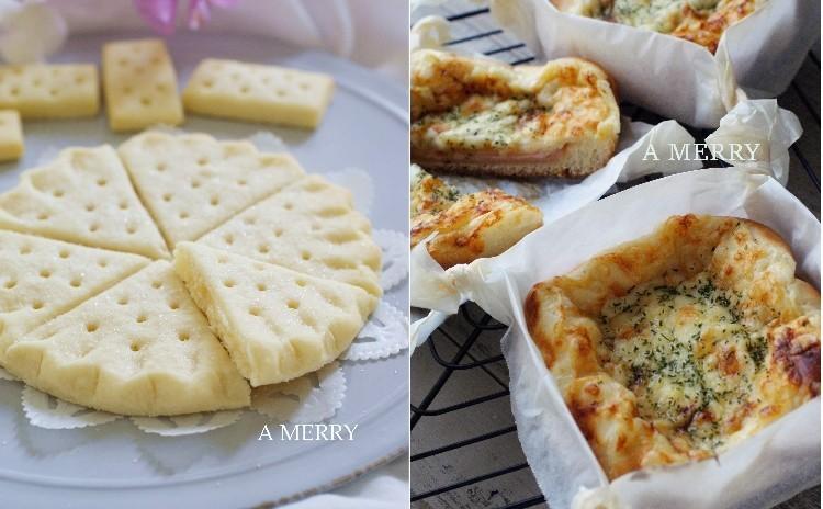 【ランチ付】生地から作るクロックムッシュとフリル模様が可愛いイギリス菓子ぺティコートテイルのショートブレッド♡
