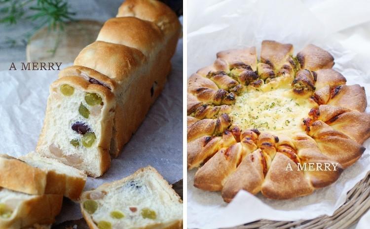 【ランチ付】春のおもてなし♡二種類の具材が楽しめるピッツァ・ソレイユと彩りが美しい和のパン~和三盆とかのこ豆のスティック