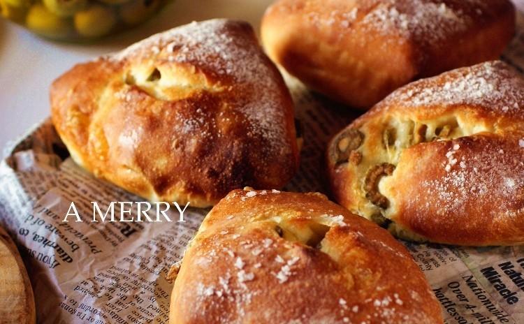 【ランチ付】リクエスト開催♪グリーンオリーブのリュスティックとクラシックスタイルのクリームパン