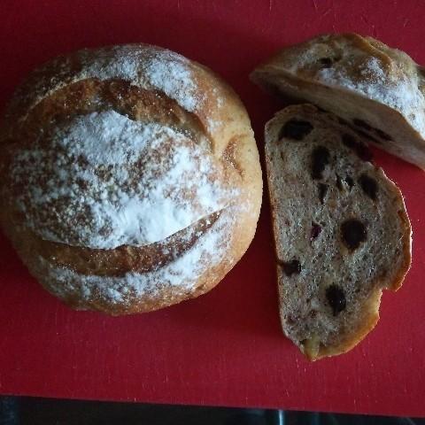 自家製酒粕酵母パン