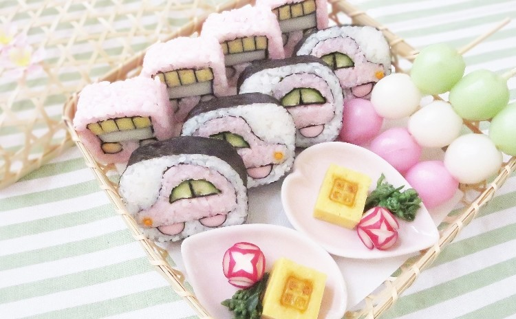 新宿南口10分[子供の日の巻き寿司]手ぶらでサクッと1時間