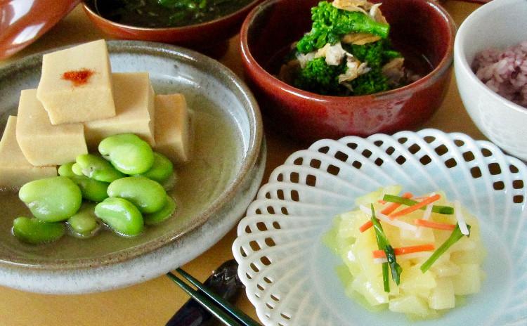 旨味を生かした春を彩る和食
