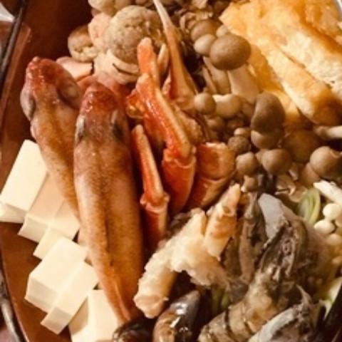 海鮮ぐつぐつ闇鍋