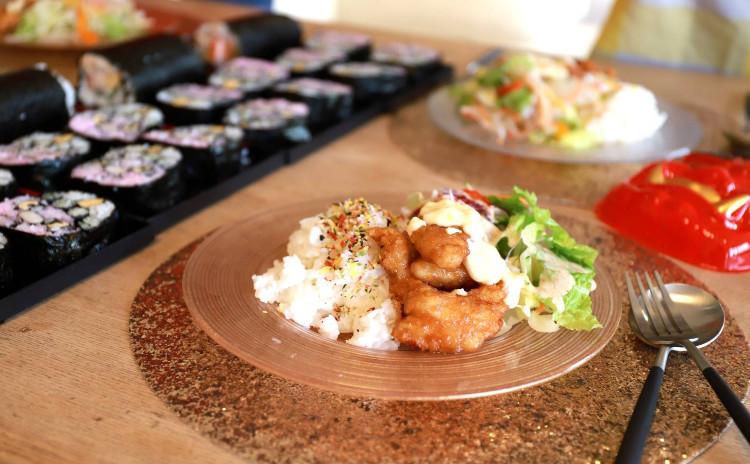 断面の綺麗な飾り巻き寿司 part④ かわいい巻き寿司をつくりましょう【ランチ・お土産つき】