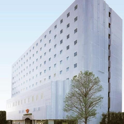 ハートンホテル南船場の外観