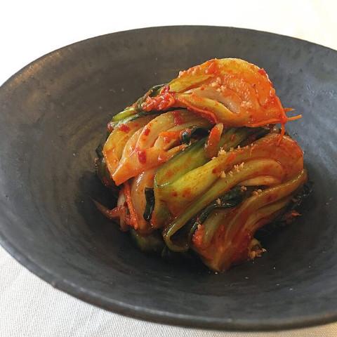 青梗菜キムチ