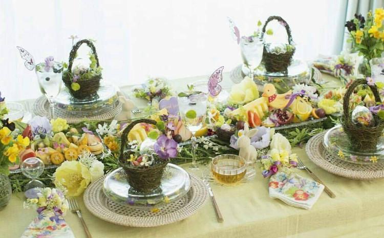 フルーツカッティング×テーブルコーディネートで春のおもてなしレッスン