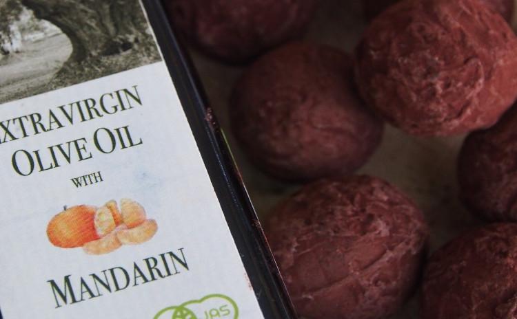 南イタリア産マンダリンオリーブオイルのトリュフ作り&ハワイ産Bean to Bar チョコ食べ比べ♪