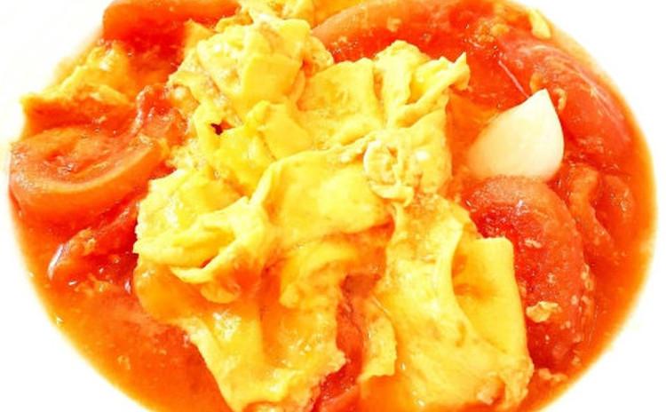 トマトと卵の炒め物(単品定価:8,000円)