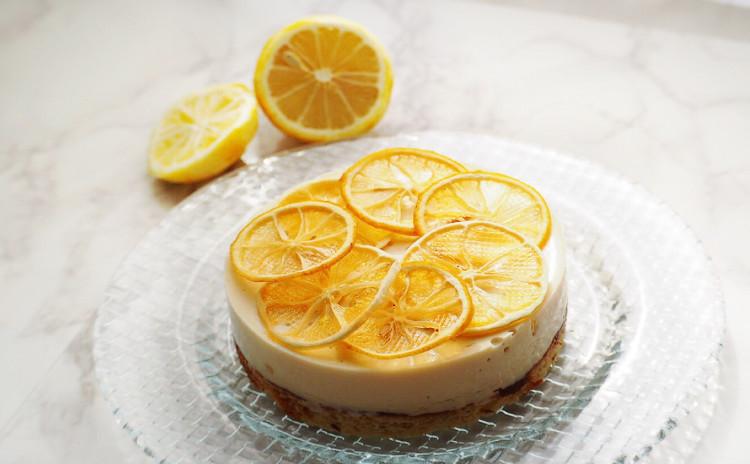 爽やか旬の柑橘類フルーツムースケーキ♡生クリーム、ゼラチン、乳製品、小麦粉、トランス脂肪酸、精製糖不使用!